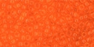 10 g TOHO Seed Beads 11/0 TR-11-0010 B Mandarin Orange