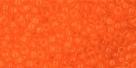10 g TOHO Seed Beads 11/0 TR-11-0010 B Mandarin Orange