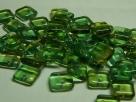 50 Stück Squarelet 6x6 mm tr. grün