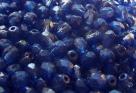 #51.1 50 Stück - 4,0 mm Glasschliffperlen - chr. capri half wax