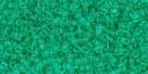 5g TOHO SeedBeads 15/0 TR-15-0072 - Tr. Beach Glass Green