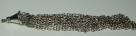 1 Stück Metallanhänger Quaste ± 6cm antiksilber
