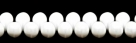 #04 - 20 Glastropfen 5x7mm opak weiß