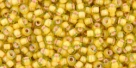 10 g TOHO Seed Beads 11/0 TR-11-0302 - Inside-Color Jonquil/Apricot Lined (E,F)