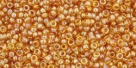 5g TOHO SeedBeads 15/0 TR-15-0162 C - Tr.-Rainbow Topaz