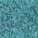 5 Gramm Miyuki Seed Beads 15-Mix 14 Touch of Teal