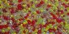 5 Gramm Miyuki Seed Beads 15-Mix 19 Tango