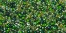 5 Gramm Miyuki Seed Beads 15-Mix 24 Spring Leaves