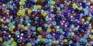 5 Gramm Miyuki Seed Beads 15-Mix 25 Gemtones
