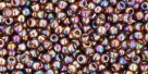 10 g TOHO Seed Beads 11/0 TR-11-0177 - Tr.-Rainbow Smoky Topaz