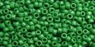 5g TOHO SeedBeads 15/0 TR-15-0047 HF - Opaque-Matte Forest Green