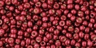 10 g TOHO Seed Beads 11/0 TR-11-PF564 - Permanent Finish - Galvanized Brick Red (A,D,C)