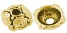 #21.1 - 1 Perlkappe Ø 09mm altgold