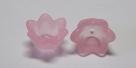 #04.01 - 1 Acrylblüte transp.-matt Ø 10mm rosa