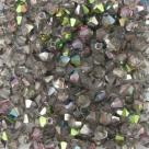 #04.0 25 Stück - 4,0 mm Crystal Bicone crystal vitrail