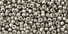 10 g TOHO Seed Beads 11/0 TR-11-0711 - Nickel (A,C,B)
