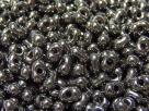 #44.00 - 10 g cz. Farfalle 4x2 mm metallic dark nickel