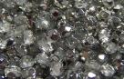 #02.2 50 Stück - 3,0 mm Glasschliffperlen - crystal half labrador
