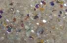 #02.3 50 Stück - 3,0 mm Glasschliffperlen - tr. crystal AB