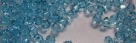 #07.0 25 Stück - 3,0 mm Crystal Bicone Aquamarine