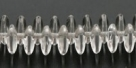 #01 - 50 Stück Lentils 6x2,5 mm tr.-crystal