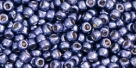 10 g TOHO Seed Beads 11/0 TR-11-PF567 - Permanent Finish - Galvanized Purple (A,D,C)