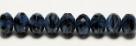 #09 - 20 Stück - 5*8mm Donut - Black/Blue