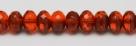 #14 - 20 Stück - 5*8mm Donut - Tr. Hyacinth/Opak Terracotta
