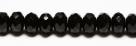 #01 - 20 Stück - 5*8mm Donut - Opak Black