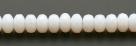 #03 - 20 Stück - 4*7mm Donut - Opalin White