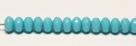 #11 - 20 Stück - 4*7mm Donut - Opak Hellblau