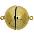 1 Neumann-Kugel-Magnet-Verschluss Ø 18 mm  Acryl Gold
