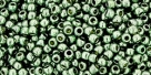 10 g TOHO Seed Beads 11/0 TR-11-PF565 - Permanent Finish - Galvanized Silver Grey (A,D,C)