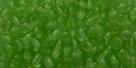 #06 - 50 Stück Perlen rund - tr. chartreuse - Ø 3 mm