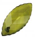 #09.1 - 10 AcrylBLÄTTER transp. 26x11x5mm olive