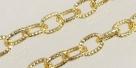 1 m Gliederkette Ø ± 14x9mm gold