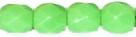 #03 50 Stück - 4,0 mm Glasschliffperlen - opak maigrün