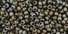 10 g TOHO Seed Beads 11/0 TR-11-0083 F - Metallic-Frosted Iris Brown