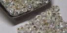 #05 10g Preciosa® TwinBeads crystal AB silver-lined
