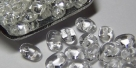 #001 10g SuperDuo-Beads tr. crystal