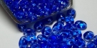 #015 10g SuperDuo-Beads tr. sapphire