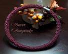 Schlauchkette Sweet Burgundy - deutsch als pdf