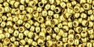 10 g TOHO Seed Beads 11/0 TR-11-PF559 - Permanent Finish - Galvanized Yellow Gold (A,D,C)