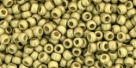 10 g TOHO Seed Beads 11/0 TR-11-PF559 F - Permanent Finish - Galvanized Matte Yellow Gold (A,C,D)