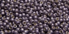 10 g TOHO Seed Beads 11/0 TR-11-PF568 F - Permanent Finish - Galvanized Matte Lt Amethyst (A,C,D)