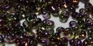 #53.00 - 10 g cz. Farfalle 4x2 mm tr.crystal magic color/violett