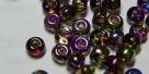10g cz. Rocailles magic color 6/0 violett-green