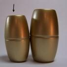 Power-Magnetverschluss - 35x20 mm gold matt Innen Ø 12mm