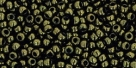 10 g TOHO Seed Beads 11/0 TR-11-0422 - Gold-Lustered Dk Chocolate Bronze (C)