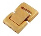 Fold Over Uhrenverschluss - 19x13 mm goldfarben